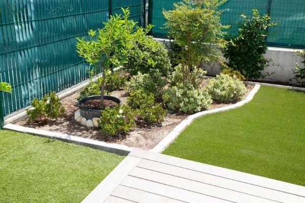 synthetic turf garden edging