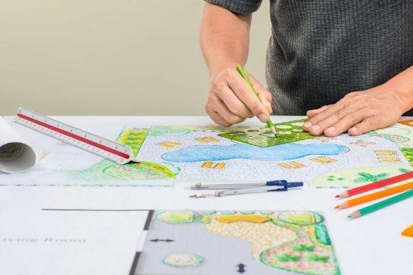 plans for landscape design